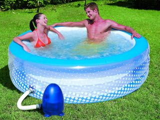 Piscina carrefour de burbujas 196 53 cm cuidados plantas for Suelo piscina carrefour